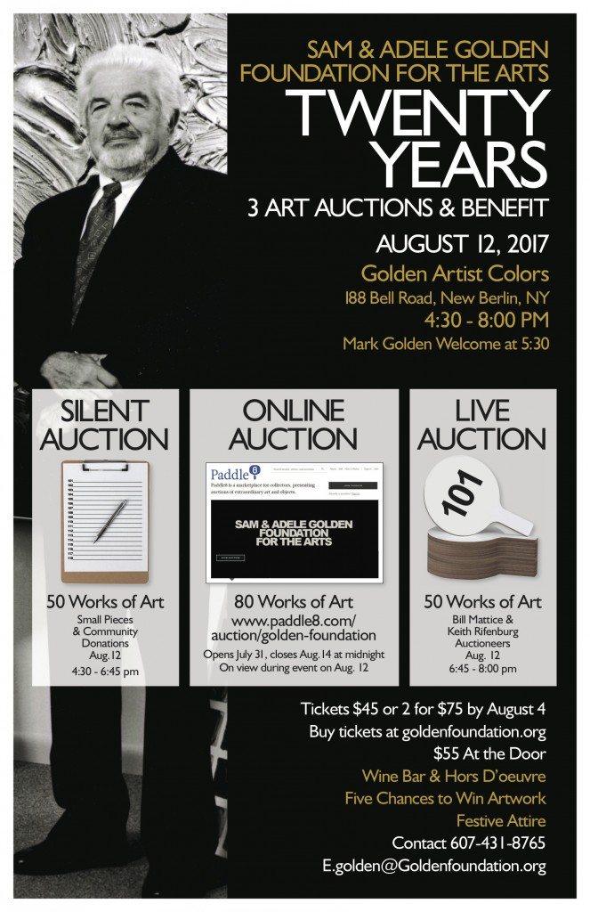 2017 Auction Poster